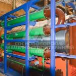 Теплообменник в составе установки для переработки отходов