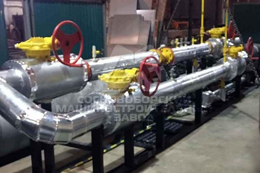 Система измерения количества и параметров газа СИКГ