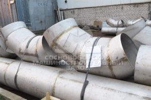 Газоходы для комплекса термического обезвреживания