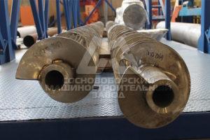 Загрузочные шнеки для нефтегазового оборудования