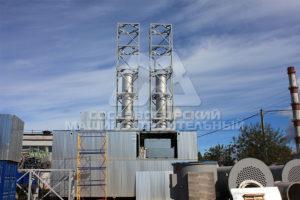Модульные металлоконструкции для газовой промышленности